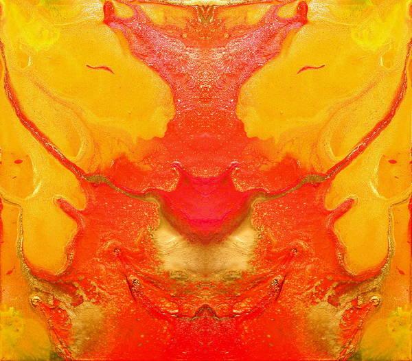 Passion Light Movement Art Print