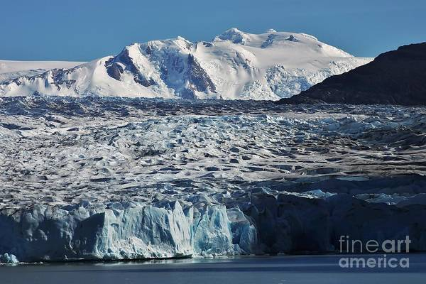 Photograph - Patagonia - Glacier Grey by Bernard MICHEL