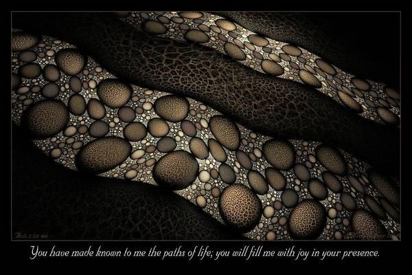Digital Art - Paths Of Life by Missy Gainer