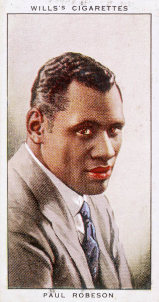 Wall Art - Drawing - Paul Bustill Robeson  American Actor by Mary Evans Picture Library
