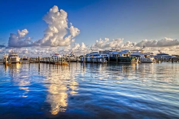 Boynton Photograph - Peaceful Harbor by Debra and Dave Vanderlaan