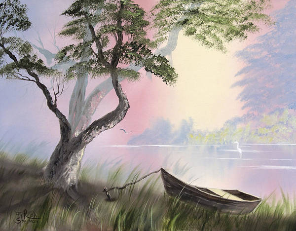 Painting - Peaceful Lagoon by Rich Stedman