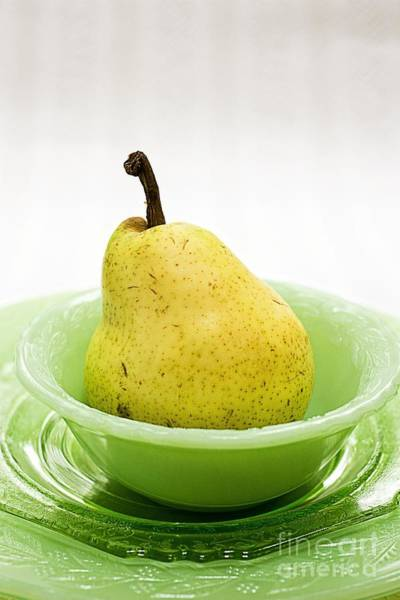 Photograph - Pear Still Life by Edward Fielding
