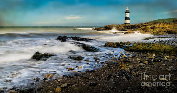 Wall Art - Photograph - Penmon Lighthouse by Adrian Evans