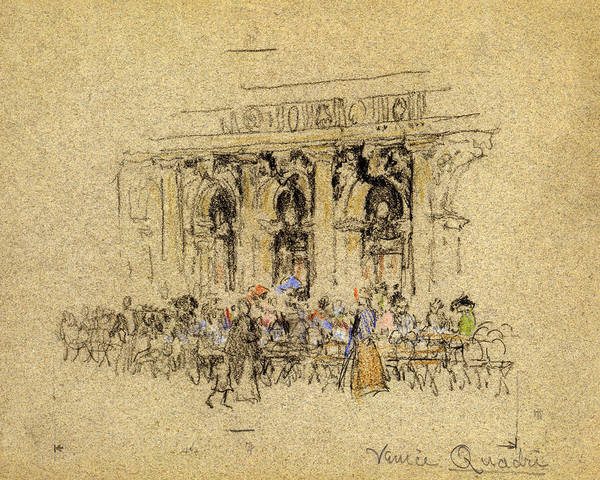 Wall Art - Drawing - Pennell Venice, C1901 by Granger