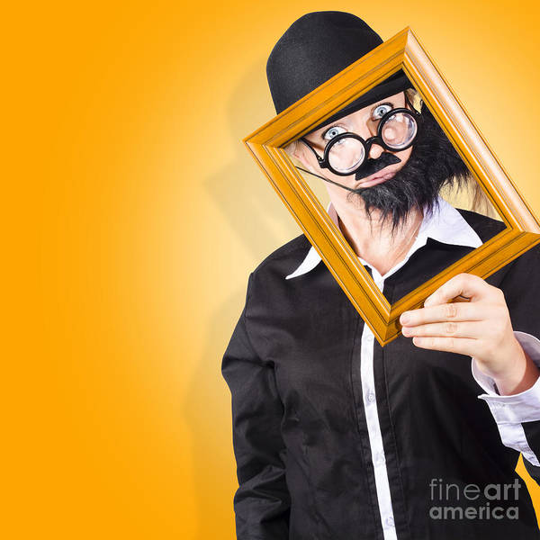 Framing Photograph - Person Setting Their Social Media Profile Picture by Jorgo Photography - Wall Art Gallery
