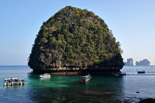 Phi Phi Island Photograph - Phi Phi Island, Thailand by Andrea Pistolesi