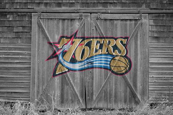 Nba Photograph - Philadelphia 76ers by Joe Hamilton