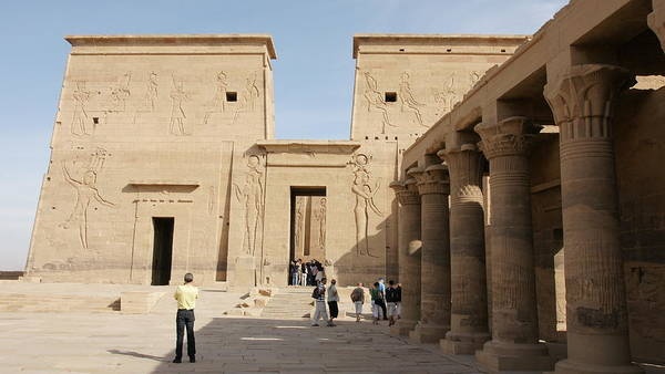 Photograph - Philae Temple by Olaf Christian