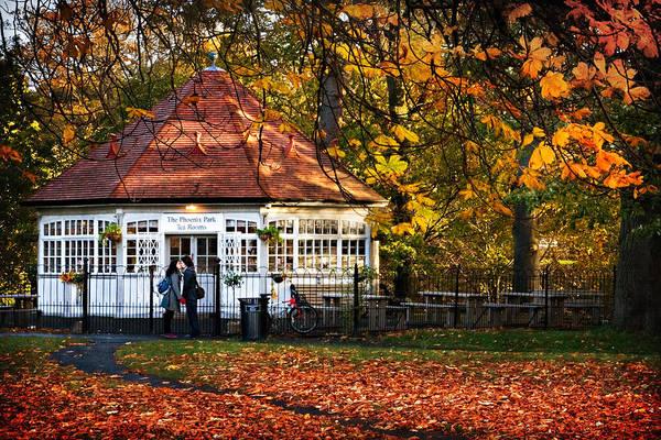 Photograph - Phoenix Park Tea Rooms - Dublin by Barry O Carroll