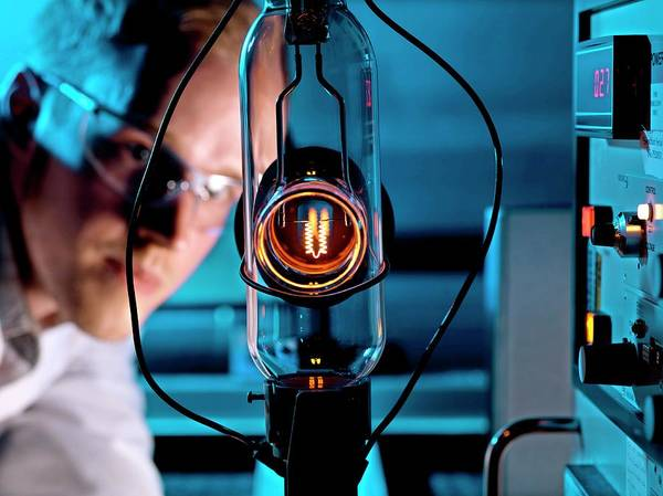 Developed Photograph - Phototherapy Research by Andrew Brookes, National Physical Laboratory/science Photo Library