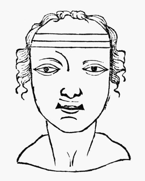 Murderer Painting - Physiognomy, 1658 by Granger