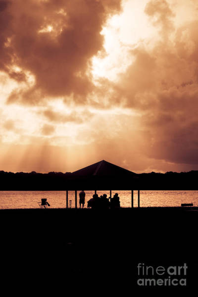Relative Photograph - Picnic Silhouettes by Jorgo Photography - Wall Art Gallery
