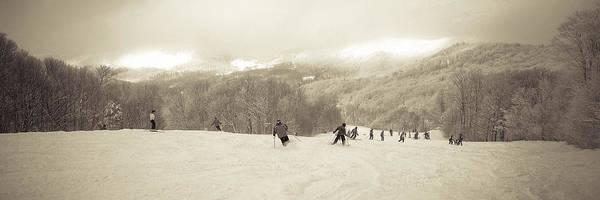 Boarding Pass Photograph - Pico Ski Resort 7 by Patsy Zedar