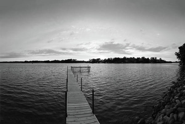 Wall Art - Photograph - Pier In A Lake, Lake Minnetonka by Panoramic Images