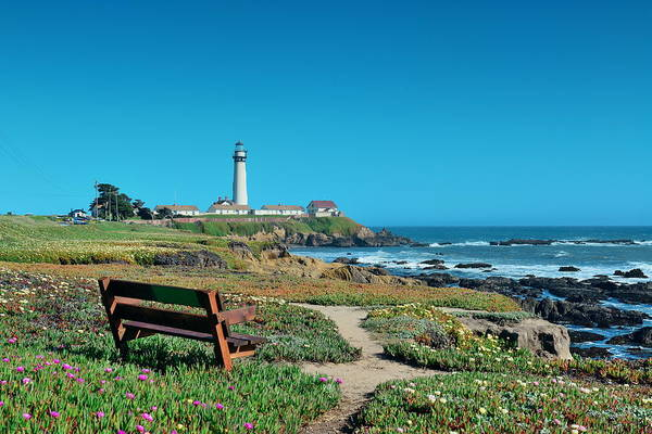 Photograph - Pigeon Point Lighthouse  by Songquan Deng
