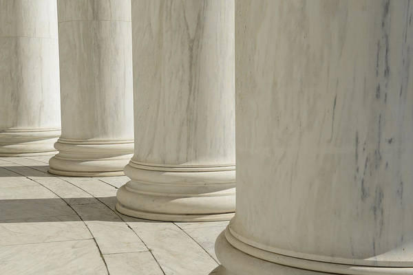 Photograph - Pillars by Brandon Bourdages
