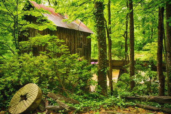 Millrace Wall Art - Photograph - Pine Run Grist Mill by Priscilla Burgers