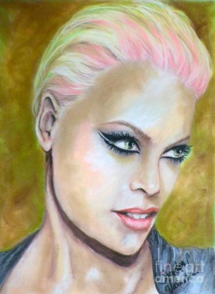 Wall Art - Pastel - Pink by Sandra Valentini