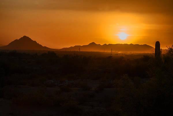 Photograph - Piestewa Peak Sunset by Tam Ryan