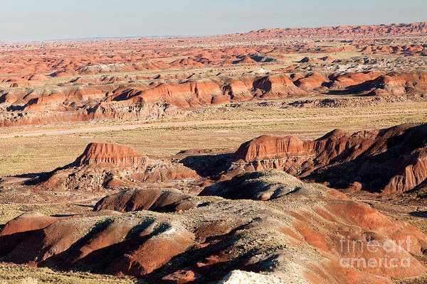 Photograph - Pintado Point Painted Desert Petrified Forest National Park by Fred Stearns