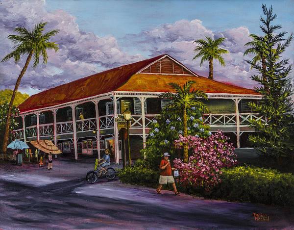 Inn Wall Art - Painting - Pioneer Inn Lahaina by Darice Machel McGuire