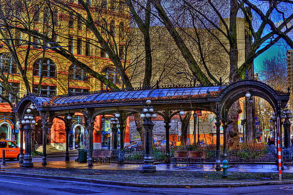 Photograph - Pioneer Square - Seattle by David Patterson