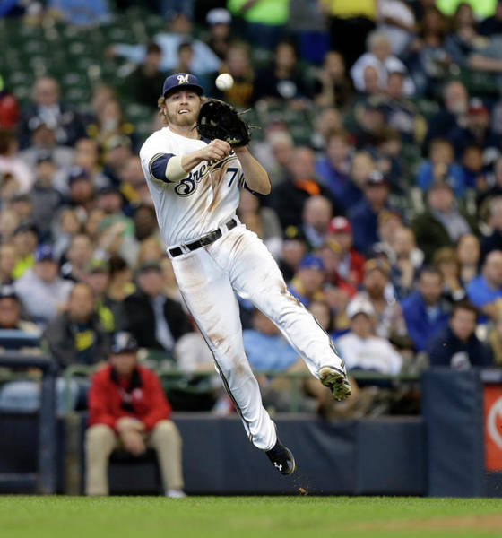 Ball Photograph - Pittsburgh Pirates V Milwaukee Brewers by Jeffrey Phelps