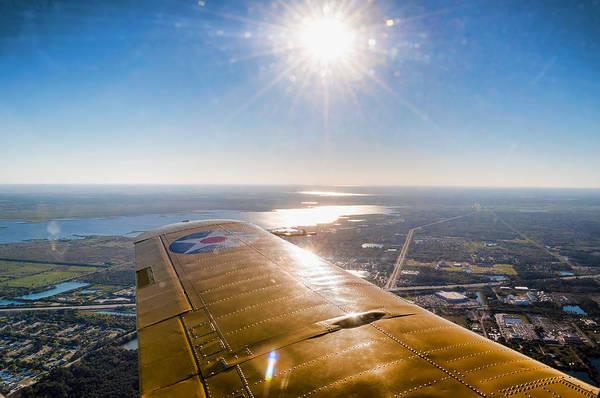 Photograph - Plane Ride by David Hart