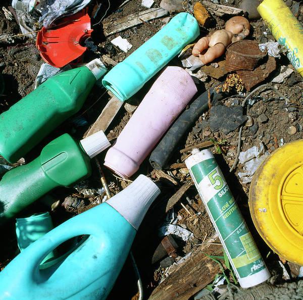 Plastic Waste Art Print