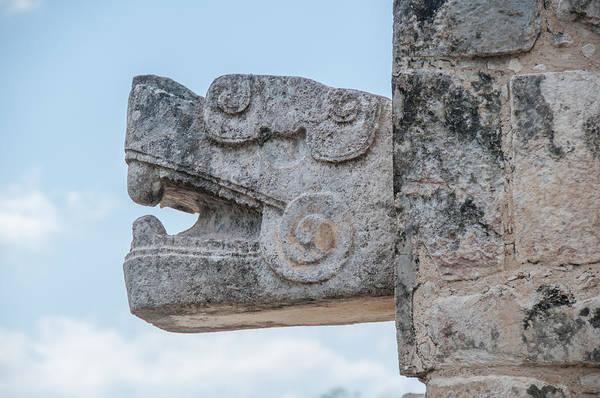 Chichen Digital Art - Platform Of Eagles And Jaguars At Chichen Itza by Carol Ailles