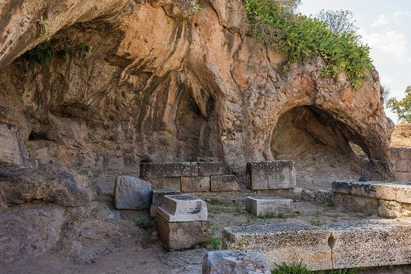 Eleusis Photograph - Plutonion At Eleusis by David Parker/science Photo Library