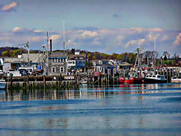 Photograph - Plymouth Harbor by Anthony Dezenzio