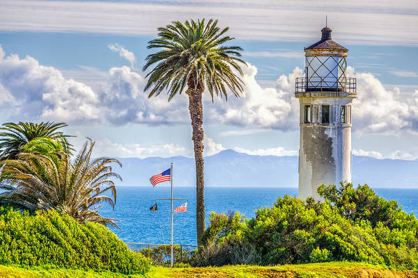 Point Vicente Wall Art - Photograph - Point Vicente Lighthouse by Ken Wolter