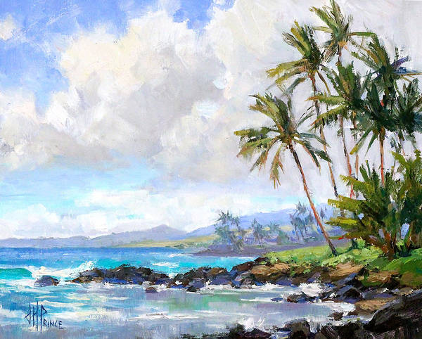 Hawaii Wall Art - Painting - Poipu Beach #1 by Jenifer Prince