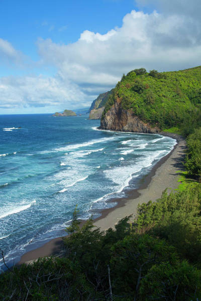 Big Island Photograph - Pololu Valley, North Kohala, Big by Douglas Peebles
