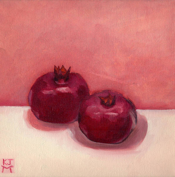 Painting - Pomegranates by Katherine Miller