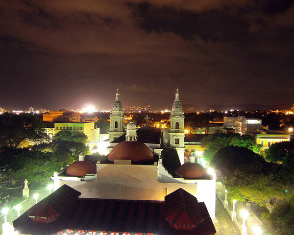 Photograph - Ponce Cathedral by Adam Johnson