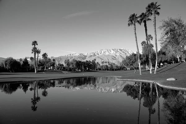 Riverside California Photograph - Pond In A Golf Course, Desert Princess by Panoramic Images