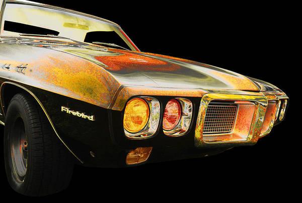 1969 Pontiac Firebird Photograph - Pontiac by Allan Price
