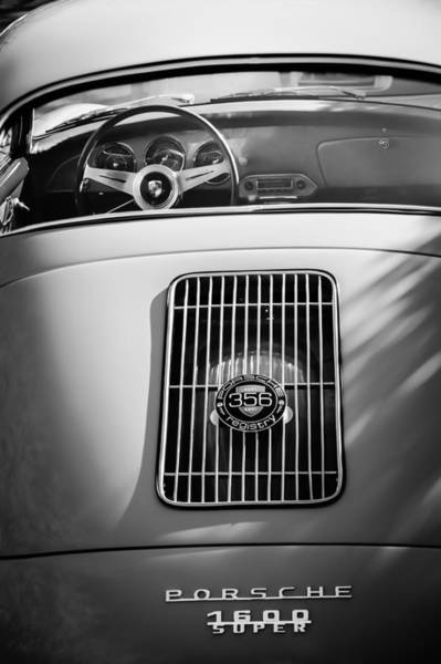 Photograph - Porsche 1600 Super Rear End by Jill Reger