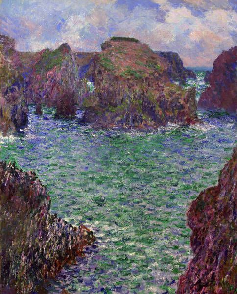 Outcrop Painting - Port-goulphar by Mountain Dreams