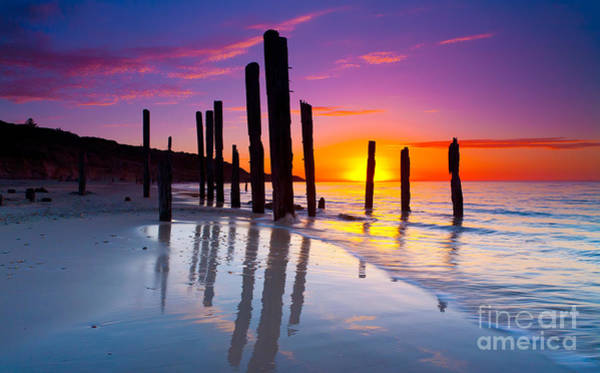 Wall Art - Photograph - Port Willunga Sunset by Bill  Robinson