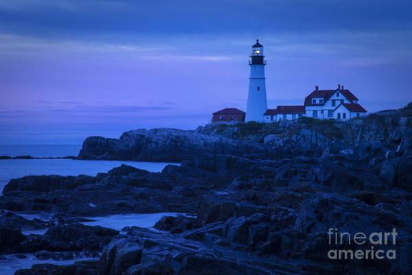 Photograph - Portland Head Light by Brian Jannsen