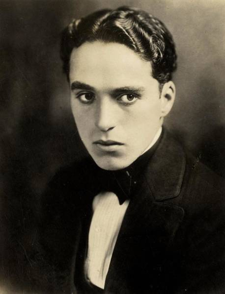 Comedy Photograph - Portrait Of Charlie Chaplin by American Photographer