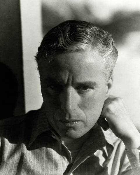 Male Portrait Photograph - Portrait Of Charlie Chaplin by George Hoyningen-Huene