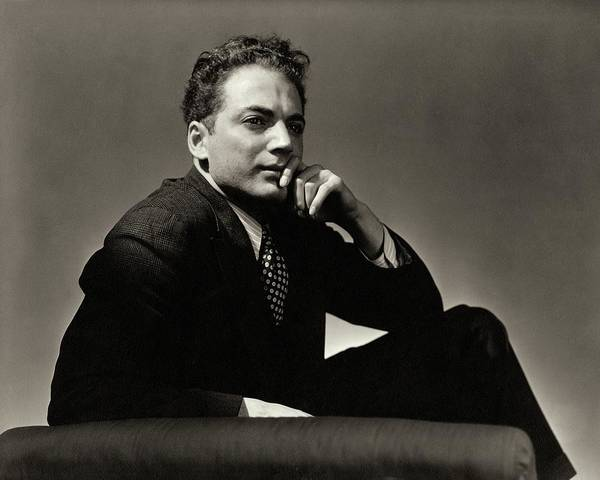 Male Portrait Photograph - Portrait Of Clifford Odets by Lusha Nelson