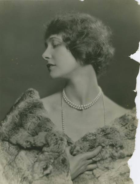 Middle Aged Photograph - Portrait Of Elsie Ferguson by Nickolas Muray