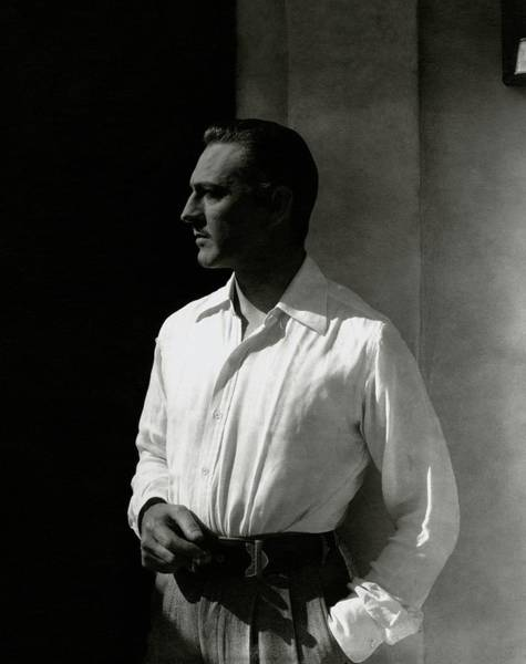 Male Photograph - Portrait Of John Barrymore by Edward Steichen