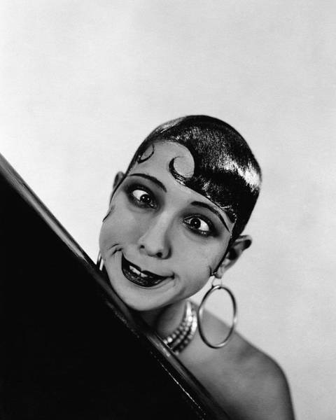 Singer Photograph - Portrait Of Josephine Baker by George Hoyningen-Huene
